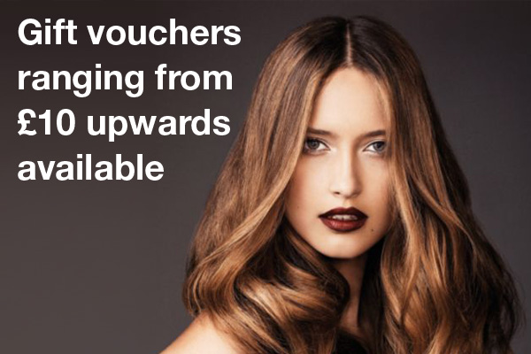 Gift vouchers ranging from £10 and upwards available